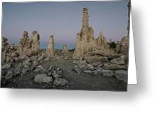 Tufas At Dusk No.2 Greeting Card by Margaret Pitcher