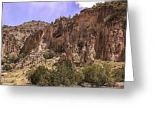 Tuff Cliffs Greeting Card