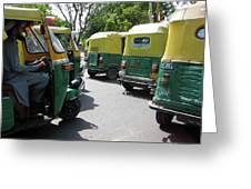 Tuk-tuks Greeting Card
