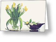 Tulip Art Greeting Card