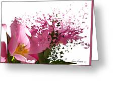 Tulip Blast Greeting Card