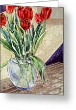 Tulip Bouquet - 11 Greeting Card