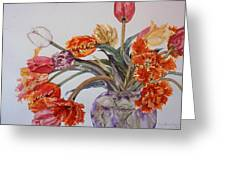 Tulip Bouquet - 12 Greeting Card