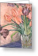 Tulip Bouquet - 9 Greeting Card