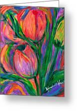 Tulip Edge Greeting Card