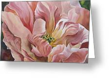Tulip In Pink Greeting Card