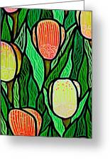 Tulip Joy 2 Greeting Card