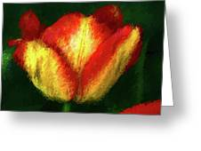 Tulip Painting Greeting Card