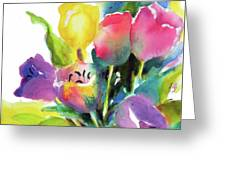 Tulip Pot Greeting Card