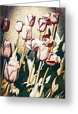 Tulip Sheltered Greeting Card