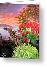 Tulip Town 19 Greeting Card