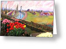 Tulip Town 21 Greeting Card