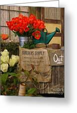 Tulip Town Greeting Card