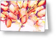 Tulips Are People Iv Greeting Card