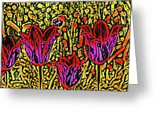 Tulips Are Tulips Greeting Card