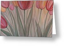 Tulips For Carol Greeting Card