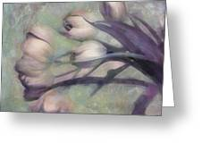 Tulips Going West Greeting Card