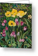 Tulips In The Capitol 2 Greeting Card
