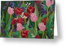 Tulips In The Capitol Greeting Card