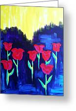 Tulips Of My Heart Greeting Card