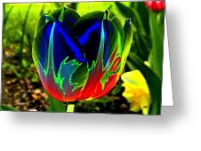 Tulipshow Greeting Card