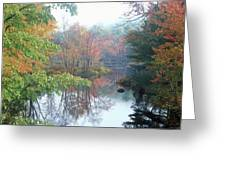 Tully River Autumn Greeting Card