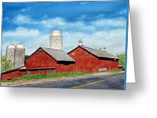 Tulmeadow Farm Greeting Card