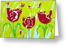 Tulpen 67 Greeting Card