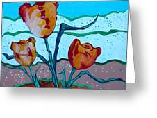 Tulpen 71 Greeting Card