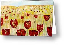Tulpen 74 Greeting Card