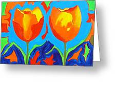 Tulpen 80 Greeting Card