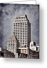 Tulsa Art Deco I Greeting Card by Tamyra Ayles