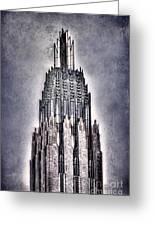 Tulsa Art Deco IIi Greeting Card by Tamyra Ayles