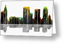 Tulsa Oklahoma Skyline Greeting Card