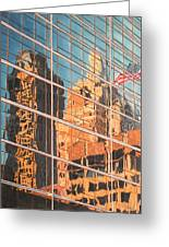 Tulsa Relections 2 Greeting Card by Kenny King