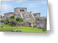 Tulum Ruins   Greeting Card