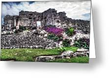 Tulum Temple Ruins No.2 Greeting Card
