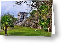 Tulum Watchtower Greeting Card