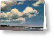 Tumbling Clouds Greeting Card