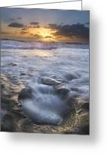 Tumbling Surf Greeting Card