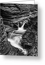 Tumbling Waters #2 Greeting Card