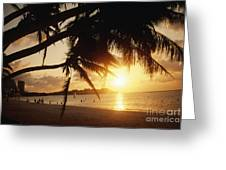 Tumon Bay Greeting Card
