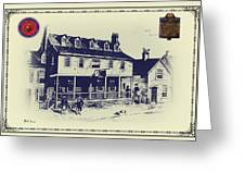 Tun Tavern - Birthplace Of The Marine Corps Greeting Card by Bill Cannon