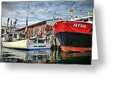 Tuna Fishing In Gloucester Greeting Card