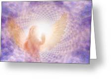 Tunel Of Light Greeting Card
