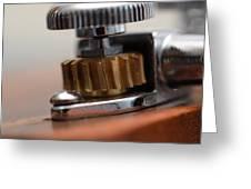 Tuning Machine Greeting Card