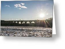 Tunkhannock Viaduct Greeting Card