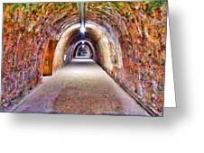 Tunnel Greeting Card