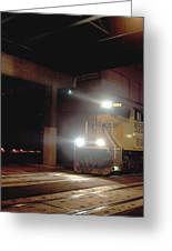 Tunnel Light Greeting Card