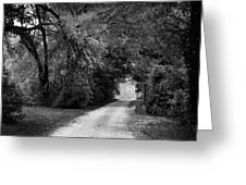 Tunnel Of Lydia Greeting Card